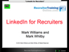 WEBINAR: LinkedIn for Recruiters