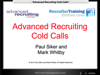 WEBINAR: Advanced Recruiting Cold Calls