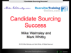 WEBINAR: Candidate Sourcing Success