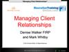 WEBINAR: Manging Client Relationships