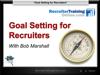 WEBINAR: Goal Setting for 2013