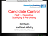 WEBINAR: Candidate Control (Part 1)