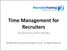 Webinar: Time Management for Recruiters