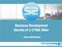 WEBINAR: Business Development Secrets of a £750k Biller