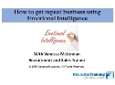 Webinar: How To Use Emotional Intelligence To Increase Your Billings
